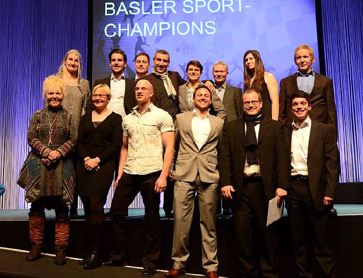 Sportler-Ehrung SWISS DRAGONS 2015 in Basel