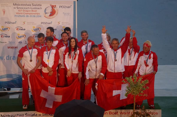 Swiss Dragons Premium - WM-Bronze Medaille in Polen