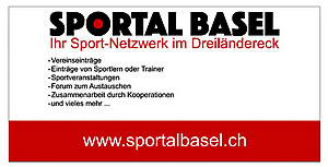SPORTAL BASEL - Ihr Sport-Netzwerk im Dreiländereck - Powered by Jansen-Gisiger COMMUNICATION - Graphic & Design, Photography and Websites