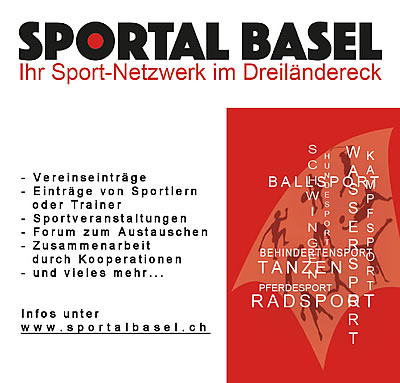 SPORTAL BASEL - Dein Sport-Netzwerk im Dreiländereck - Powered and Designed by Jansen-Gisiger COMMUNICATION - Graphic & Design, Photography and Websites