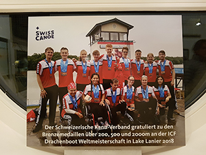 Swiss Canoe Awards 2018 - Swiss Dragons junior